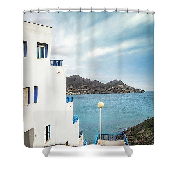 Paradise Bay Shower Curtain