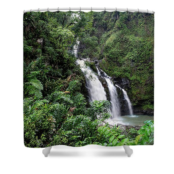 Paradise Falls Shower Curtain