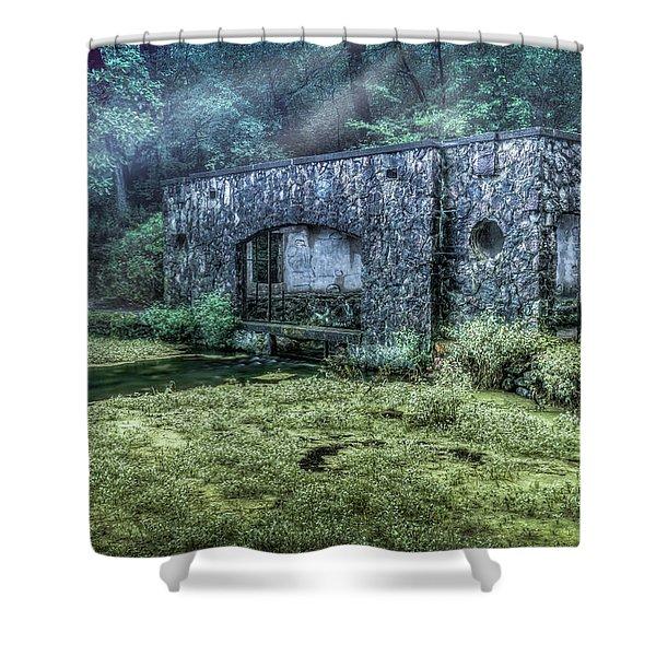 Paradise Springs Shower Curtain