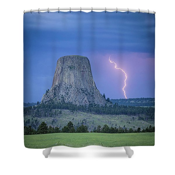 Parallel The Tower Shower Curtain