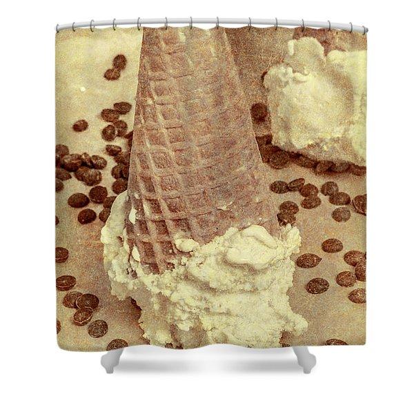 Parchment Parlor Shower Curtain