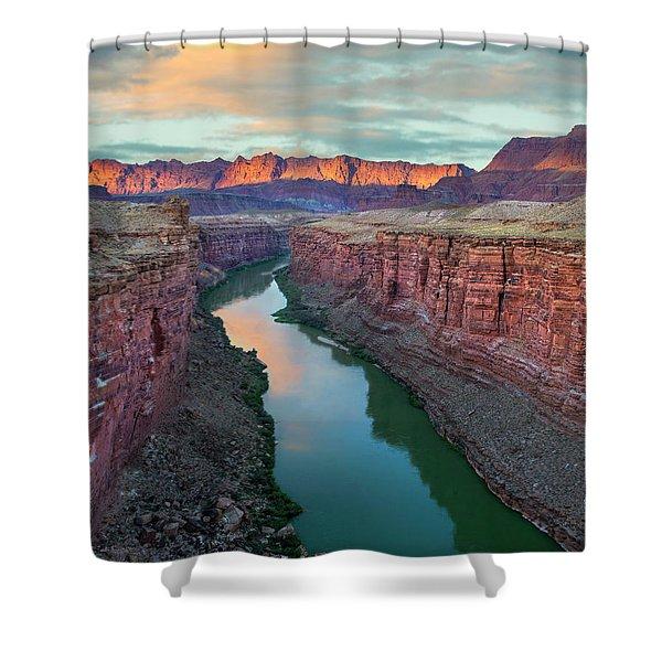 Paria River Canyon, Vermilion Cliffs Shower Curtain