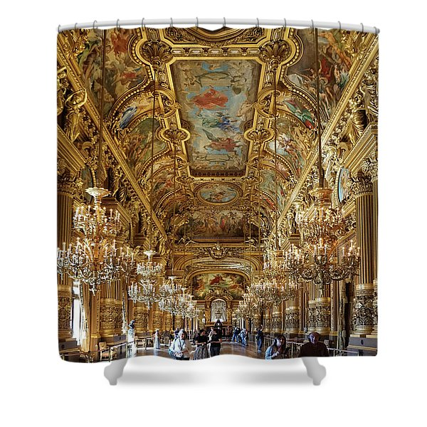 Paris Opera Shower Curtain