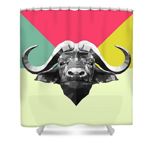 Party Buffalo Shower Curtain