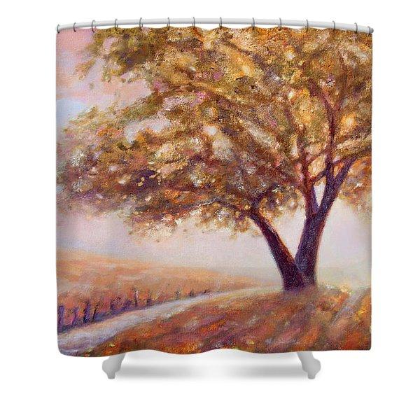Paso Robles Oak Tree Shower Curtain