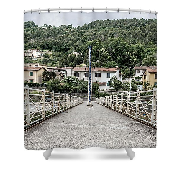 Pedestrian Walkway Shower Curtain