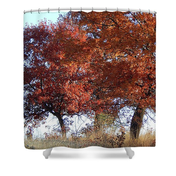 Passing Autumn Shower Curtain