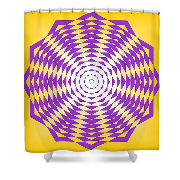 Passionate Purple  Shower Curtain