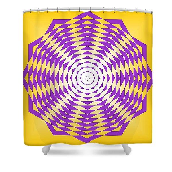 Passionate Purple  Shower Curtain