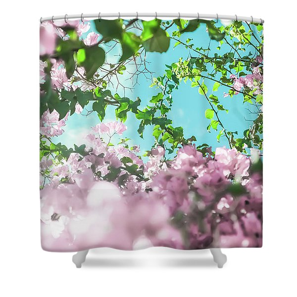 Floral Dreams II Shower Curtain