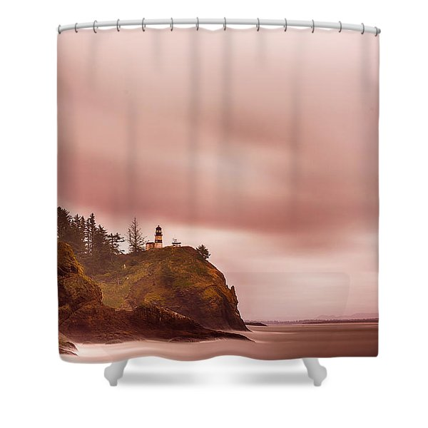 Pastel Seascape Shower Curtain