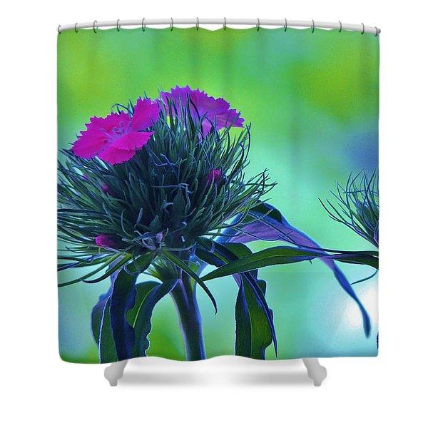 Pastel Spring Shower Curtain