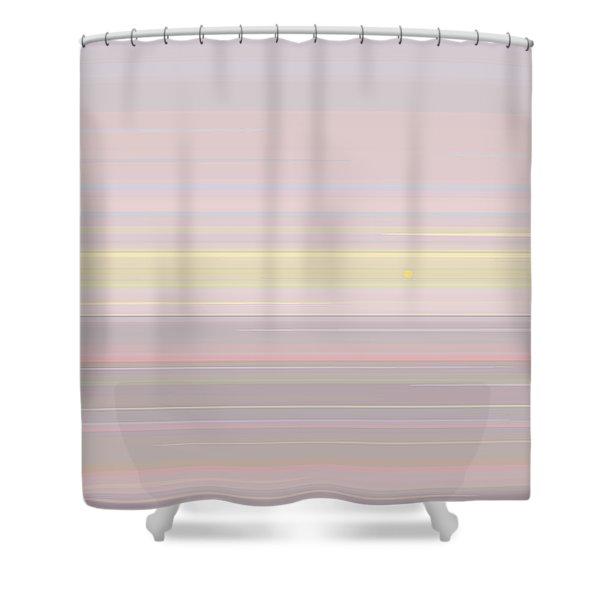 Pastel Sunrise Shower Curtain