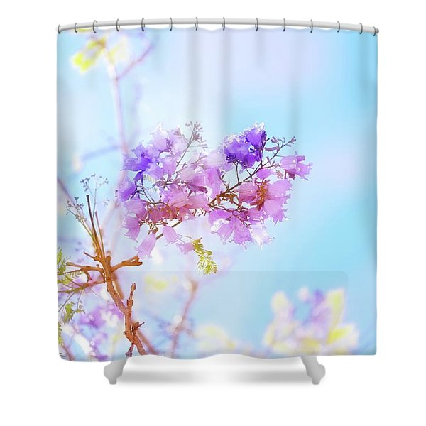 Pastels In The Sky Shower Curtain