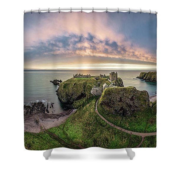 Path To Dunnottar Castle Shower Curtain