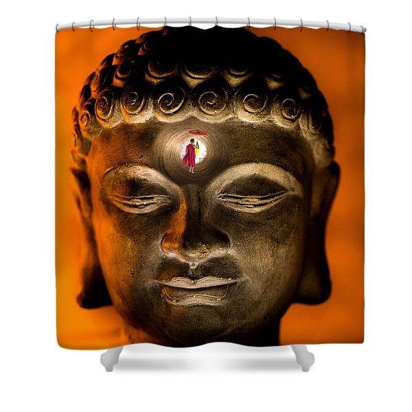 Path To Enlightenment Shower Curtain