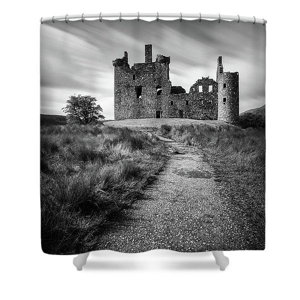 Path To Kilchurn Castle Shower Curtain