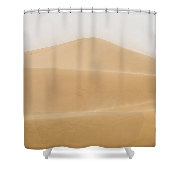Patterned Desert Shower Curtain