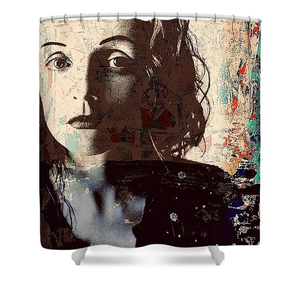 Patty Griffin Shower Curtain