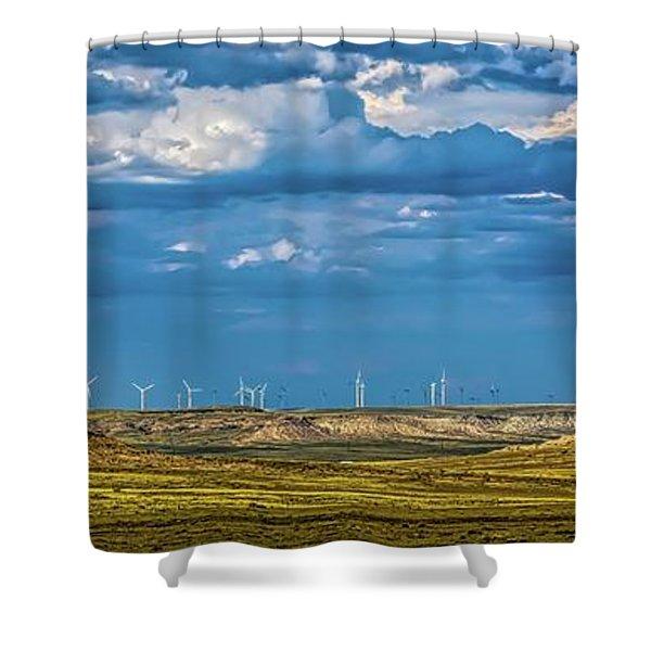 Pawnee Beauties Shower Curtain