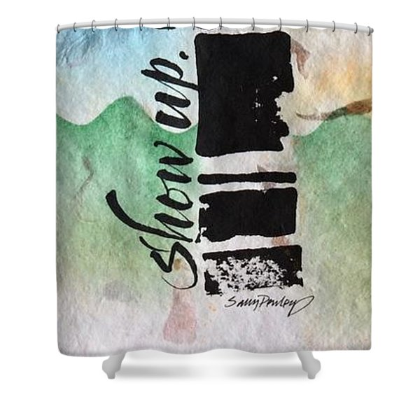Pay Attention Shower Curtain
