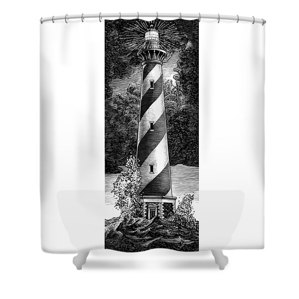 Peace In The Storm Shower Curtain