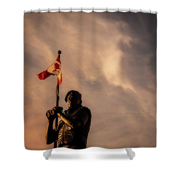 Peacekeeping Shower Curtain