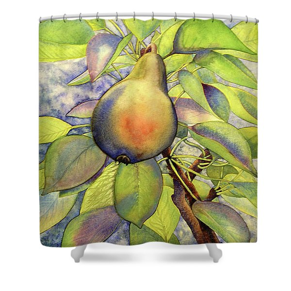 Pear Of Paradise Shower Curtain