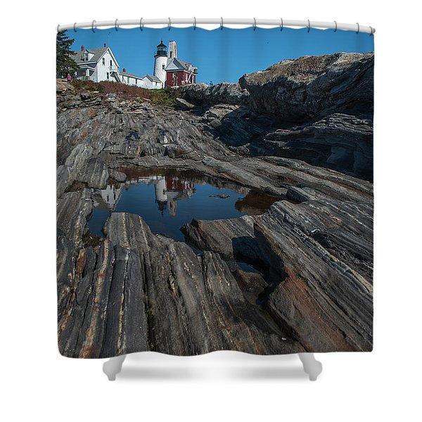 Pemaquid Lighthouse Shower Curtain