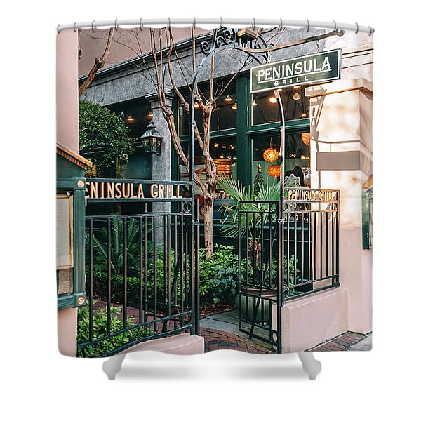 Peninsula Grill Shower Curtain