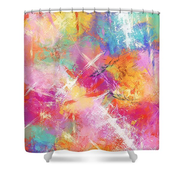 Perfect Contentment Shower Curtain