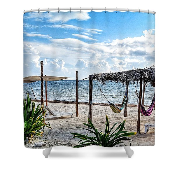 Perfect Getaway Shower Curtain
