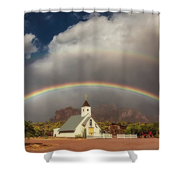 Perfect Placement Shower Curtain