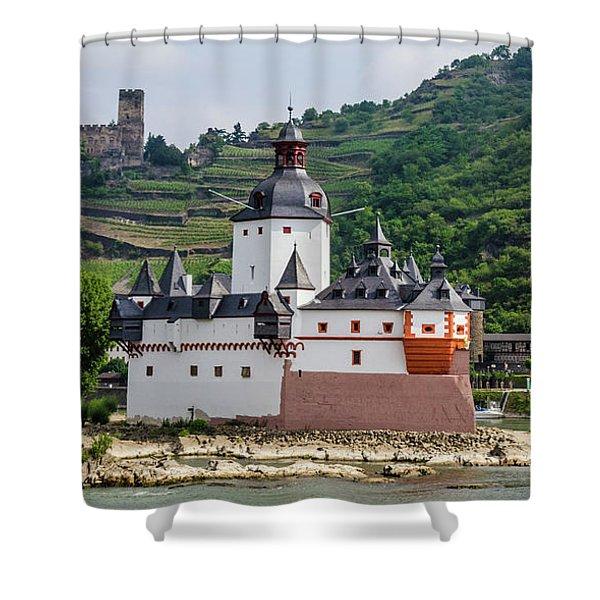 Pfalzgrafenstein Castle Shower Curtain