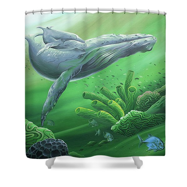 Phathom Shower Curtain