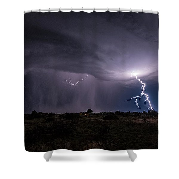 Thunderstorm #3 Shower Curtain