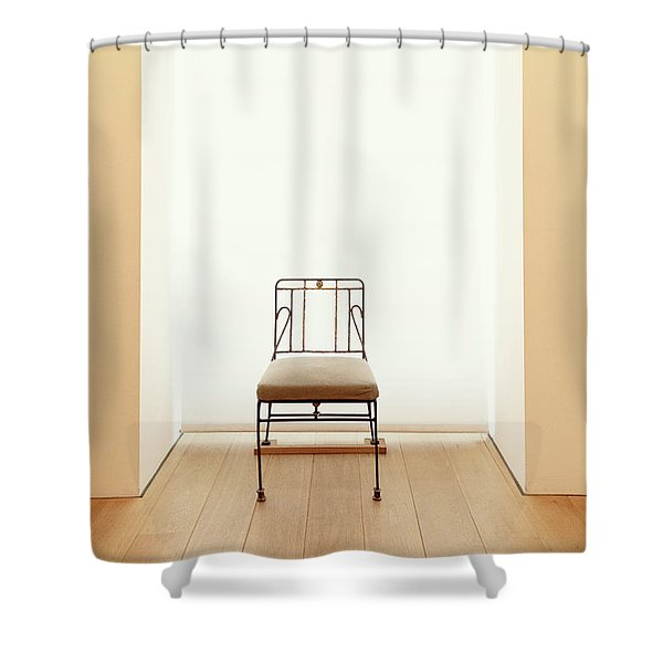 Picasso's Museum Chair Shower Curtain