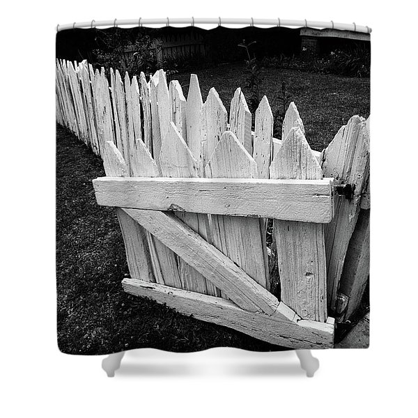 Pickett Fence Shower Curtain