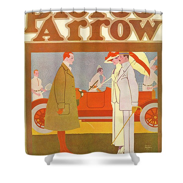 Pierce-arrow Advertisement Shower Curtain