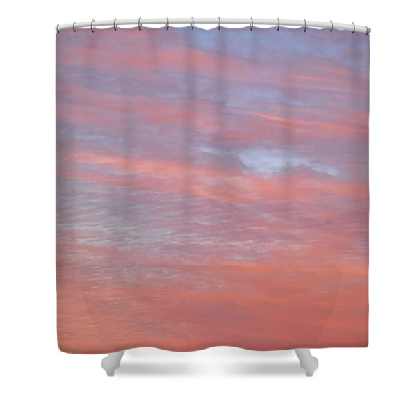 Pink In The Sky Shower Curtain