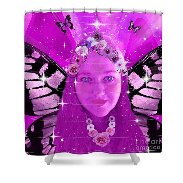 Pink Promises Shower Curtain