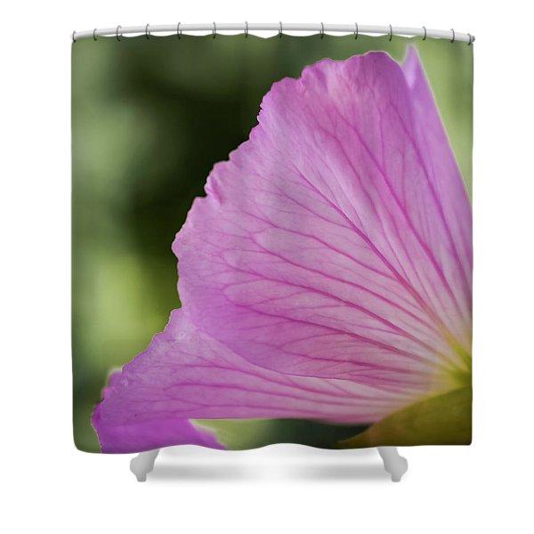 Pink Vains Shower Curtain
