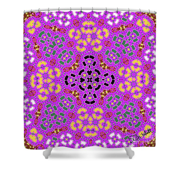 Pink1 Shower Curtain