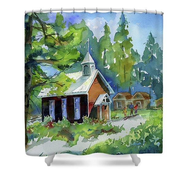 Pioneer Union Church Shower Curtain