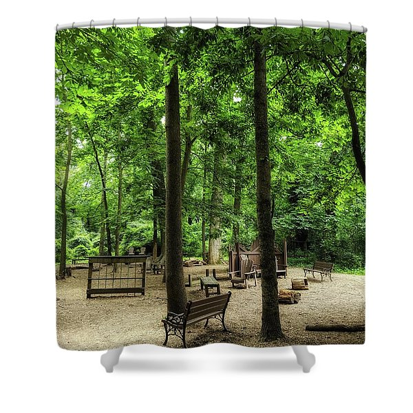 Play In The Shade Shower Curtain