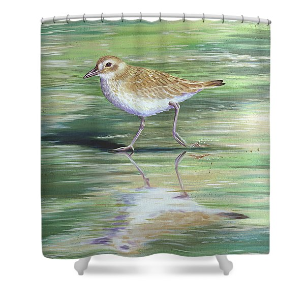 Plover Reflections Shower Curtain