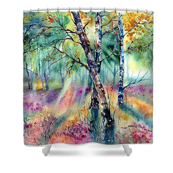 Poetry Of Summer Shower Curtain