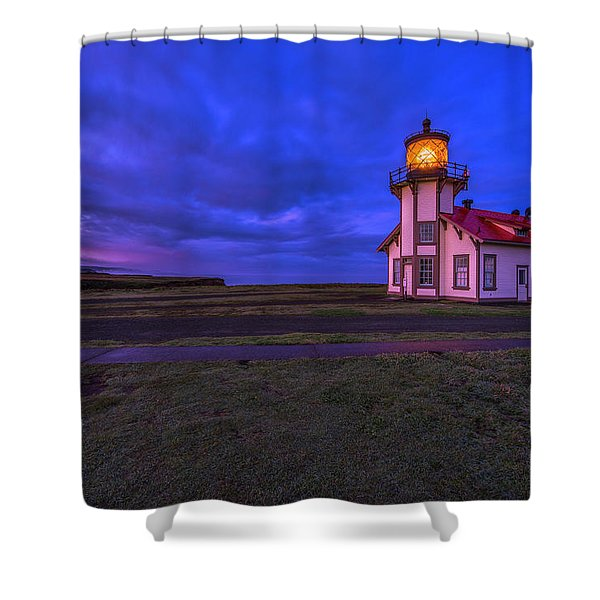 Point Cabrillo Light Station - 3 Shower Curtain