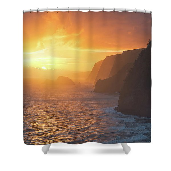 Polulu Overlook Shower Curtain