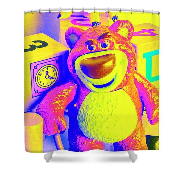 Pop Art Preschool  Shower Curtain